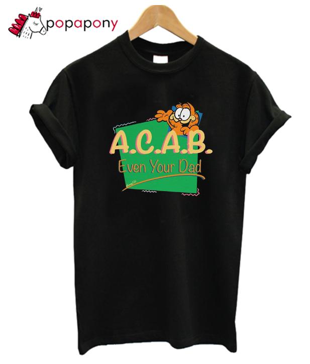 Vintage Inspired Acab Garfield Tshirt